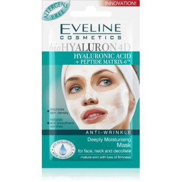 Eveline Cosmetics Anti-Wrinkle Deeply Moisturising Mask for face, neck and decollete