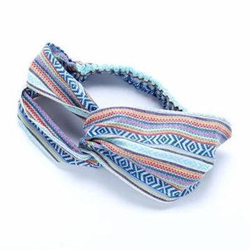 Peppercorn Kids Women's Turban Headwrap - Blue