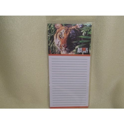 CVS Animal Planet Note Pad Magnetic Note Pad Tiger