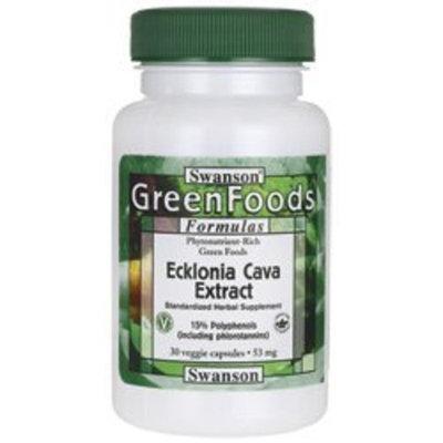 Swanson Greenfoods Formulas Ecklonia Cava Extract 53 mg 30 Veg Caps