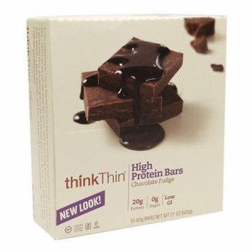 thinkThin High Protein Bar, Chocolate Fudge 2.1 oz