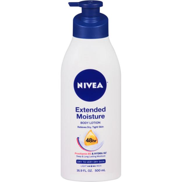 Nivea Extended Moisture Body Lotion, 16.9 fl oz