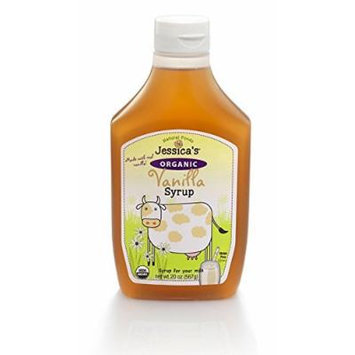 Jessica's Natural Foods Organic Vanilla Syrup 20 oz