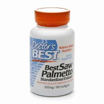Doctor's Best Best Saw Palmetto 320 mg, Softgels 180 ea