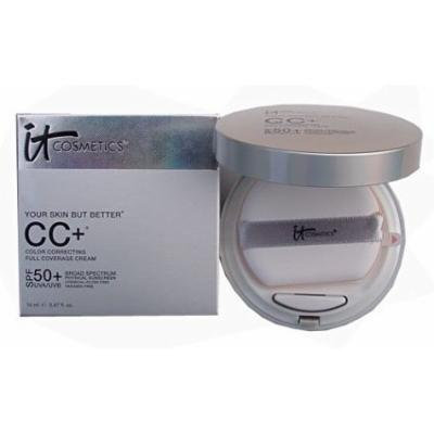 it Cosmetics CC+ Color Correcting Full Coverage Cream Compact (Light)