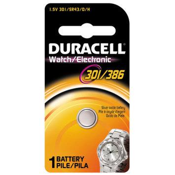 Duracell D301/386PK08 1.5 Volt Silver Oxide 301/386 Watch Electronics Battery