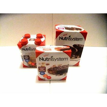 Nutrisystem VARIETY PACK: (1) 4 Pack of Chocolate Milk Shakes, (1) Box of 5 Chocolate Peanut Butter Bars, (1) Box of 4 Chocolate Muffins