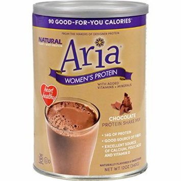 Designer Whey Aria Womens Protein Chocolate - 12 Oz