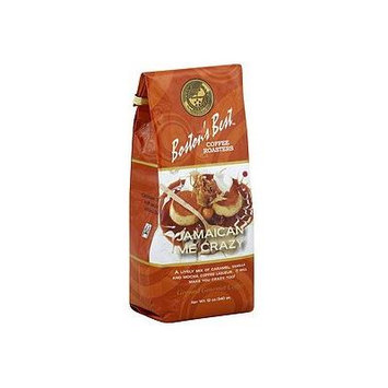Bostons Best Coffee Roasters Gourmet Coffee - Jamaican Me Crazy- 12.oz