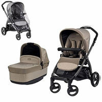 Peg Perego Book Pop with Stroller Rain Cover (Cream)