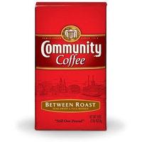Community Coffee Ground Coffee, Between Roast, 16-Ounce Bags (Pack of 10)