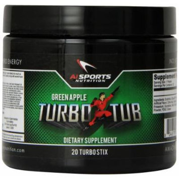 Anabolic Innovations Supplement Turbo Tub, Green Apple, 20 Count