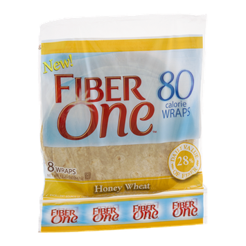 Fiber One Wraps Honey Wheat