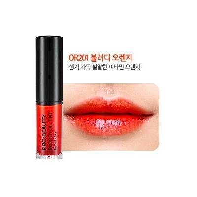 Holika Holika PRO:BEAUTY Bloody Oil Tint #OR201 Bloody Orange