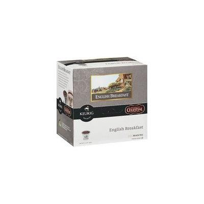Keurig K-Cups, Celestial Seasonings English Breakfast Tea, 18ct(Case of 2)