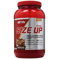 MET-Rx Size Up Gainer Nutrition Supplement, Chocolate, 3 Pound