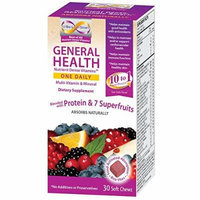 U-Be-Living-Smart General health Nutrient Dense Vitamins one daily(Multi-vitamin &Mineral with CoQ10 Deitary Supplement) Bleneded with Protein &7 superfruits