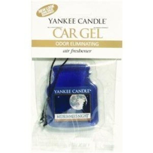 Yankee Candle Co Yankee Candle Car Gel Odor Eliminating Hanging Air Freshener, MidSummer's Night Scent