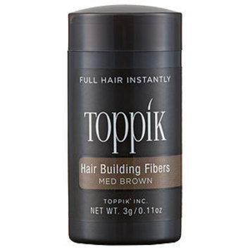Toppik Hair Building Fibers, Medium Brown, .11 oz