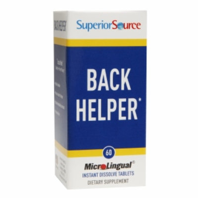 Superior Source Back Helper, Tablets, 60 ea