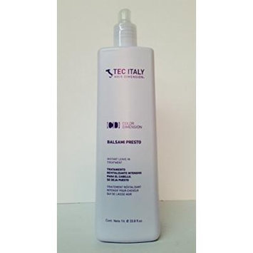 Tec Italy Color Balsami Presto / Instant Leave-in Treatment 33.8 Oz