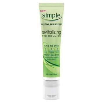 Simple Sensitive Skin Experts Revitalizing Eye Roll-On 0.5 fz (Pack of 3)