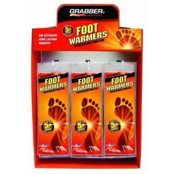 Grabber Foot Warmer Insole Display- 18 S/M & 18 M/ [Misc.]