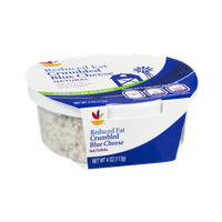 Ahold Blue Cheese Crumbled Reduced Fat Natural
