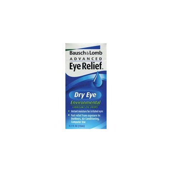 Bausch & Lomb Bausch and Lomb Advanced Eye Relief Dry Eye Environmental Lubricant Eye Drops -- 0.5 oz.