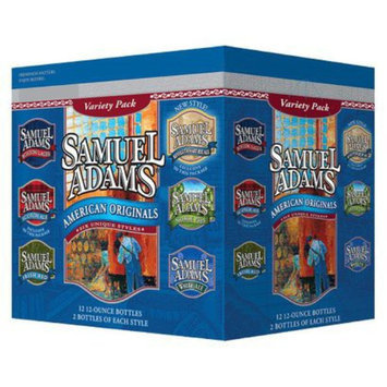 Samuel Adams Summer Styles Beer Bottles 12 oz