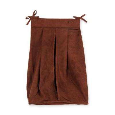 Trend Lab Brown Ultrasuede Diaper Stacker - Online Only