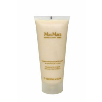 Max Mara by Max Mara for Women. Firming Body Cream With Cotton Extract 3.5 Oz / 100 Ml