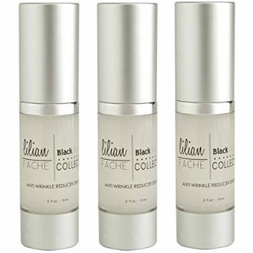 Anti Wrinkle Reducing Serum - By Lilian Fache - Anti Aging Serum - Wrinkle Reducer - Skin Rejuvenation for Preventing and Reducing Fine Lines and Wrinkles - Black Diamond Dust Infused - Beauty Skin Care Product - Collagen Restoring - Try This One of a...