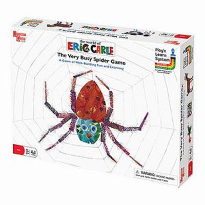 Very Busy Spider Game ages 3+
