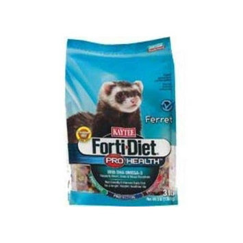 Kaytee Pet Products SKT100502088 Forti-Diet Pro Health Ferret Food, 25-Pound
