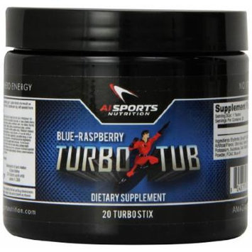 Anabolic Innovations Supplement Turbo Tub, Blue Raspberry, 20 Count