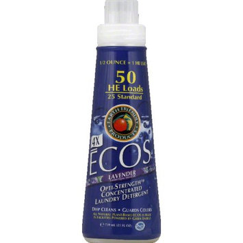 Earth Friendly Products ECOS 4X Concentrated Liquid Laundry Detergent, Lavender