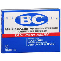 BC Pain Relief Powders