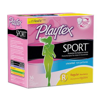 Playtex Sport Tampons Plastic Applicator