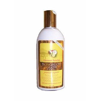 Hawaiian Bungalow Glow Premium Organic Coconut Butter Body Lotion 8 Bottles Sunrise