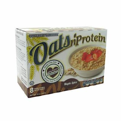 Oats n' Protein, Maple Spice, 8 packet box