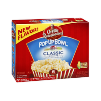 Orville Redenbacher's Pop Up Bowl Classic Recipe Microwave Popcorn