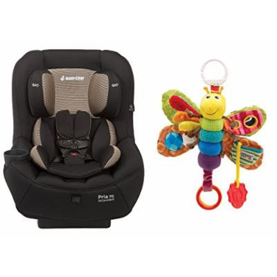 Maxi-Cosi Pria 70 Convertible Car Seat with Sensory Travel Toy, Black/Firefly