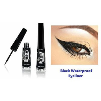 New Kleancolor Black Waterproof Liquid Eyeliner Pen Full Size Matte