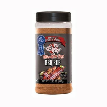 Three Little Pigs Touch of Cherry 12.25 Oz BBQ Rub