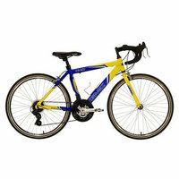 Kent International GMC Boy's Denali 24 Road Bike - Blue/Yellow