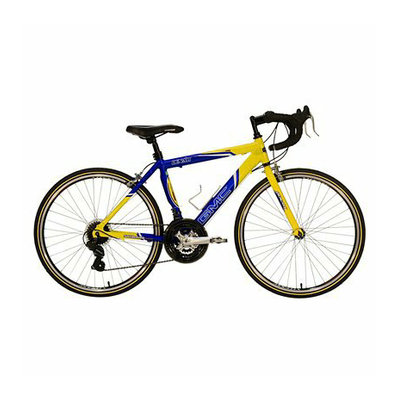 Kent International GMC Boy's Denali 24 Road Bike - Blue/Yellow