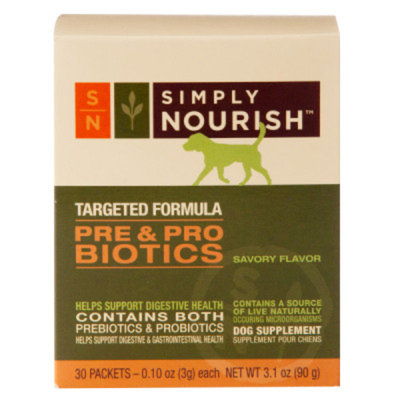 Simply NourishA Pre & Pro Biotics Dog Supplement