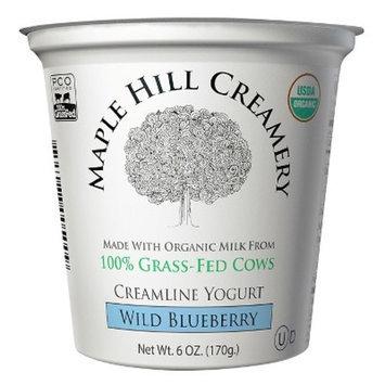 Maple Hill Creamery 100% Grass-Fed Organic Wild Blueberry Yogurt 32 oz