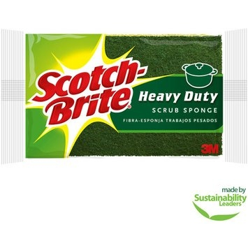Scotch-Brite Heavy Duty Scrub Sponges, Multiple Pack Sizes Available